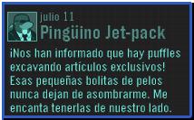 MensajePingJetPack